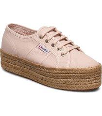 superga 2790 cotropew sandaletter expadrilles låga rosa superga