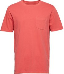 pocket t-shirt t-shirts short-sleeved rosa gap