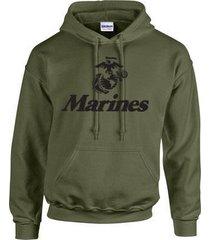 marine corps logo anchor eagle united states marines usmc military unisex hoodie