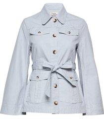 bianna zomerjas dunne jas blauw baum und pferdgarten