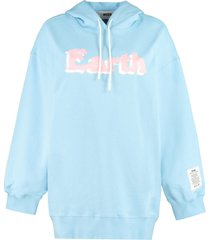 msgm cotton hoodie
