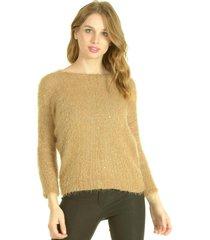 sweater brillo beige bou's