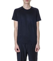 z zegna black viscose t-shirt