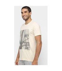 camiseta calvin klein básica estampada masculina