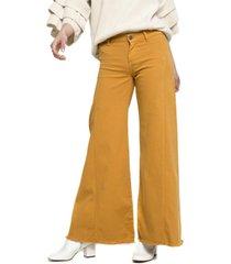 jeans palazzo 01 ana mostaza five