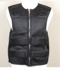black - mesh - bulletproof style motorcycle vest