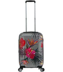 "triforce havana 22"" carry on tropical floral luggage"