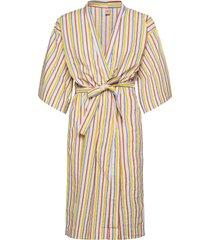 stripe liberte kimono ochtendjas multi/patroon becksöndergaard