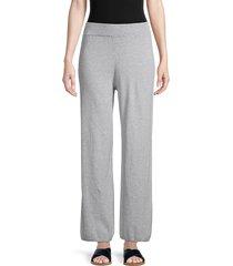 allison new york women's heathered wide-leg pants - grey - size xs