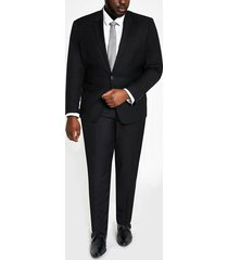 river island mens big and tall black skinny fit suit jacket