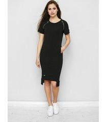 dzianinowa sukienka maurice w czerni