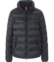 gewatteerde jas met pied-de-pouleprint van brax feel good multicolour
