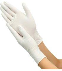 100pcs pvc trabajo desechables guantes de látex desechables guantes de inspección