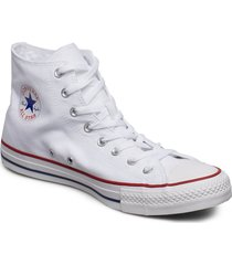 all star canvas hi höga sneakers vit converse