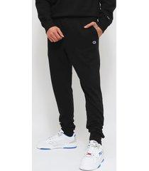 jogger champion jersey negro - calce regular