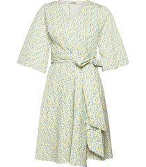 elvi dress dresses wrap dresses multi/mönstrad ivana helsinki