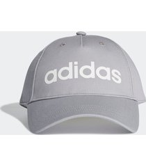 bonã© adidas daily cap cinza - cinza - dafiti