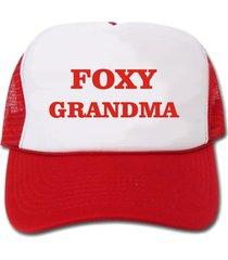 foxy grandma hat/cap