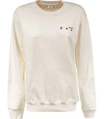 off-white arrow liquid melt sweatshirt