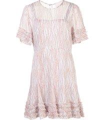 cinq a sept soft ashton dress - white