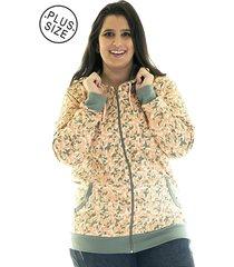 eae5c8562 Blusões - Plus Size - Konciny - Estampado - 3 produtos com até 29.0 ...