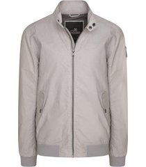windjack vanguard biker jacket off white