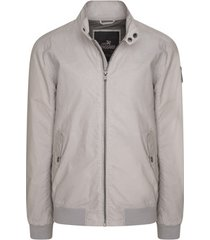 windjack vanguard biker jacket off white