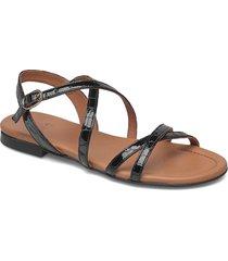 sandals shoes summer shoes flat sandals svart billi bi