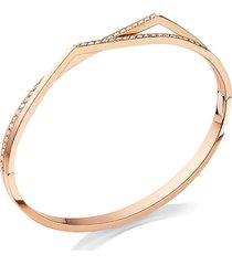 'antifer' diamond rose gold double row bracelet