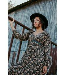 femme9 jurk multicolor bella
