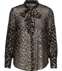 laura stina shirt blouse lange mouwen multi/patroon bruuns bazaar