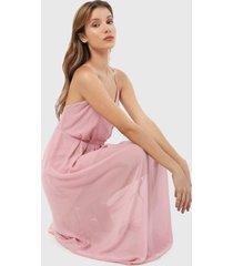 vestido rosa active