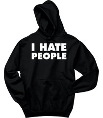 i hate people funny antisocial shirt hoodie