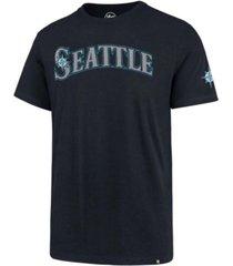 '47 brand seattle mariners men's fieldhouse basic t-shirt