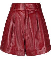 manokhi jett shorts - red