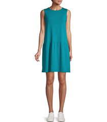 tencel jersey stretch drop waist dress