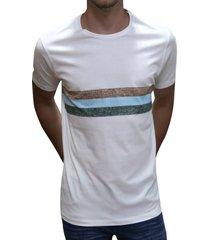 camiseta rayas blanca ref. 108010320