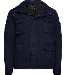classic rookie jacket dun jack blauw superdry