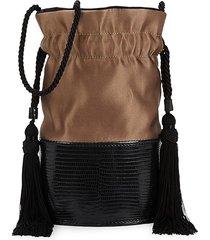 hunting season women's small lola bucket bag - copper