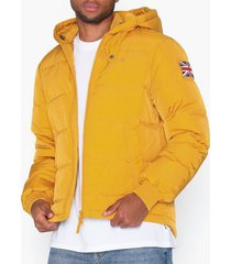 morris duncan down jacket jackor yellow