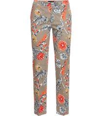 pantaloni cropped elasticizzati fantasia (grigio) - bodyflirt