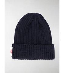 danton rib knit beanie hat