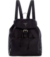 guess jaxi nylon large backpack