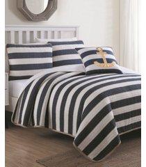 estate hampton 3 piece quilt set twin with decorative pillow