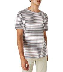 men's wax london delta stripe t-shirt