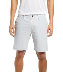 zella torrey performance shorts, size 40 in grey micro at nordstrom