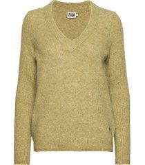 emma sweater gebreide trui groen twist & tango