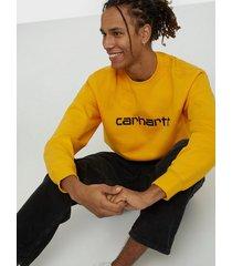 carhartt wip carhartt sweat tröjor sunflower