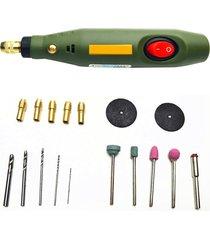 mini taladro eléctrico molinillo moler conjunto de kits de herramienta
