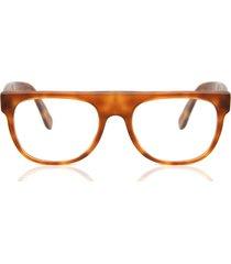 gafas graduadas retrosuperfuture flat top light havana 620